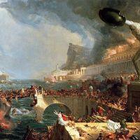 Cole The Course Of Empire- Destruction -1836