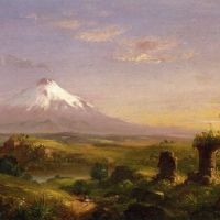 Cole View Of Mount Etna