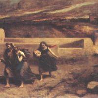Corot A La Destruction De Sodome