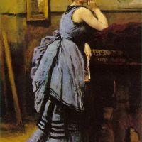 Corot La Dame En Bleu