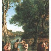 Corot Le Bapteme Du Christ