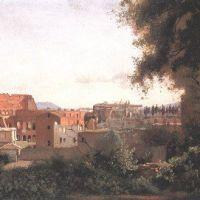 Corot Le Colisee Vu Des Jardins Farnese