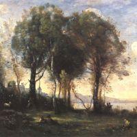 Corot Les Chevriers Des Iles Boromees