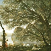 Corot Souvenir De Mortefontaine