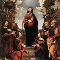 Cosimo Immaculate Conception With Saints C1505