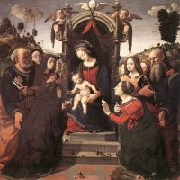 Cosimo Mystical Marriage Of St Catherine Of Alexandria 1493