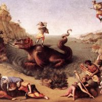 Cosimo Perseus Frees Andromeda C1515