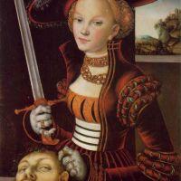 Cranach Lucas The Elder Judith Victorious