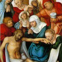 Cranach Lucas The Elder The Lamentation