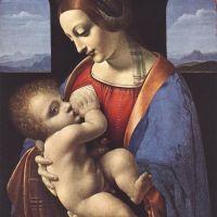 Da Vinci Madonna Litta