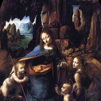 Da Vinci Madonna Of The Rocks 1491