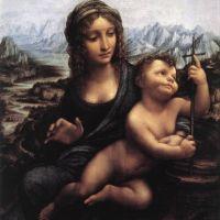 Da Vinci Madonna With The Yarnwinder After 1510