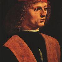 Da Vinci Portrait Of A Musician