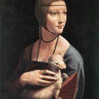 Da Vinci Portrait Of Cecilia Gallerani