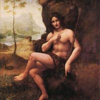 Da Vinci St John In The Wilderness Bacchus