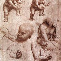 Da Vinci Study Of A Child