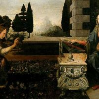 Da Vinci The Annunciation