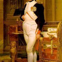 David Jacques Louis Napoleon Dans Son Etude