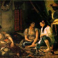 Delacroix Eugene Algeriennes Dans Leurs Appartements
