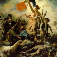 Delacroix Eugene La Liberte Guidant Le Peuple