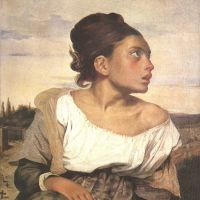 Delacroix Eugene Orphan Girl At The Cemetery