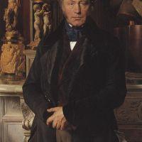 Delaroche Comte Portrait