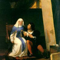 Delaroche Filippo Lippo Falling In Love With His Model 1822