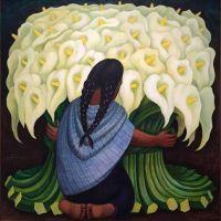 Diego Rivera The Flower Seller 1943