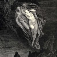Dore Gustave 15 Bard Willingly I Would Address Those Two Together Coming Which Seem So Light Before