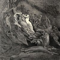 Dore Gustave 18 I Through Compassion Fainting Seem-d Not Far From Death And Like A Corpse Fell To