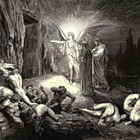 Dore Gustave 28 To The Gate He Came And With His Wand Touch-d It Whereat Open Without Impediment