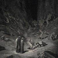 Dore Gustave 29 He Answer Thus Return-d -the Arch Heretics Are Here Accompanied By Every Sect The
