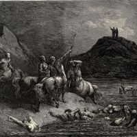 Dore Gustave 33 One Cried From Far -say To What Pain Ye Come Condemn-d Who Down This Steep Have J