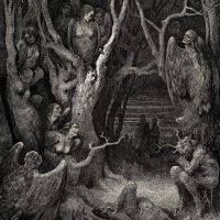 Dore Gustave 35. It Is Here Where The Hideous Harpies Build Their Nests
