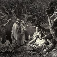 Dore Gustave 36. And The Trunk Shouted -why Are You Demolishing Me-