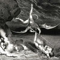 Dore Gustave 48 In Pursuit He Therefore Sped Exclaiming -thou Art Caught-