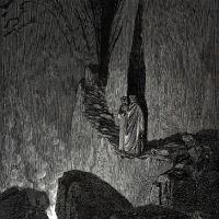 Dore Gustave 55. The Master Said -in This Fire Souls Are Burning And Each Soul Is Hardened By The