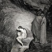 Dore Gustave 63. This Is Myrrha-s Old Soul Inexorable And Pitilessos Who Had Loved Her Father In