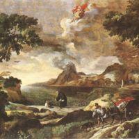 Dughet Gaspard Ste Augustine Et Le Mystere