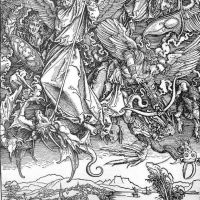 Durer St Michaels Fight Against The Dragon