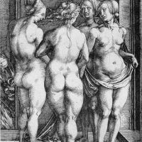 Durer The Four Witches Judgment Of Paris