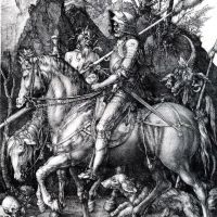 Durer The Knight Death And The Devil