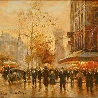 Edouard Cortes Paris Cafe De La Paix