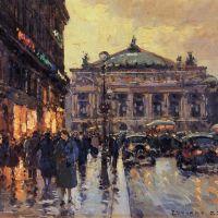 Edouard Cortes Place De Lopera