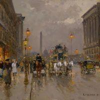 Edouard Cortes Rue Royale Concorde