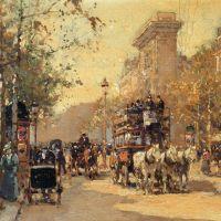 Edouard Cortes The Porte Saint Martin