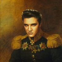 Elvis Presley George Dawe Style