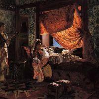 Ernst A Moorish Interior