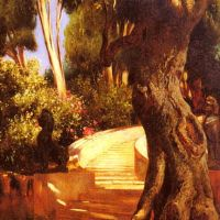 Ernst The Staircase Under The Tree
