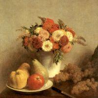 Fantin-latour Henri Fleurs Et Fruits